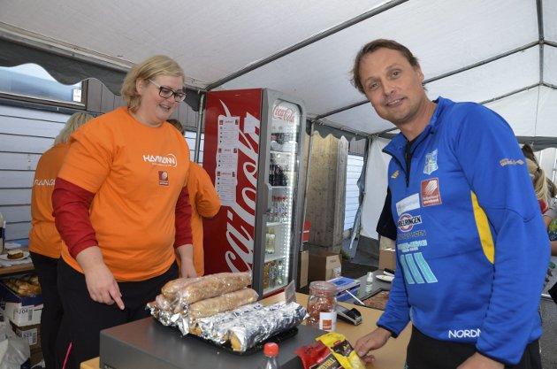 FORNØYD: Sandnessjøen IL og Fredrik Nordnes kom med fem lag til Ranahallen. – Ei kjempeturnering, skrøt han etter helgens turnering.