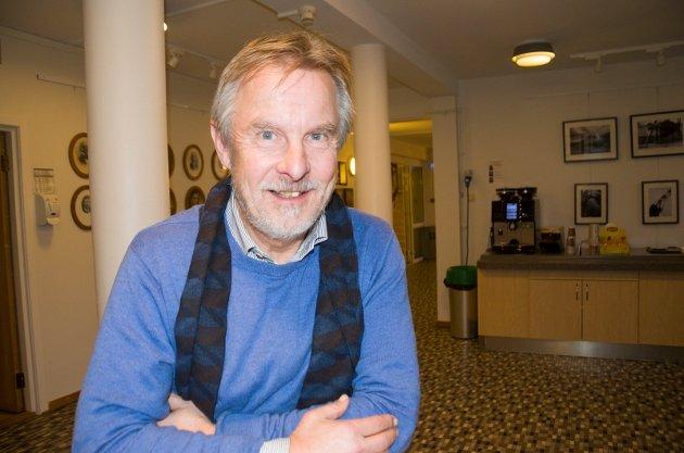 GRÜNDERVENN: Helge Stiksrud, Venstres ordførerkandidat vil gjerne at flere gründere skal lykkes.