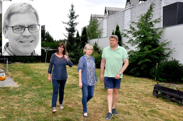 Trond Gulestø, Eirin Brudvik og Else Breines har alle nyetableringen Kryptovault som nærmeste nabo. – Men ikke glem den lille mann, skriver nyhetsredaktør Øyvind Lien.