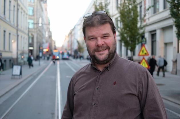 Fredrik Mellem, generalsekretær i Europabevegelsen