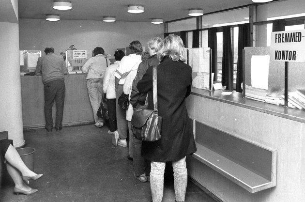 Passkontrollen, Lillestrøm 1987