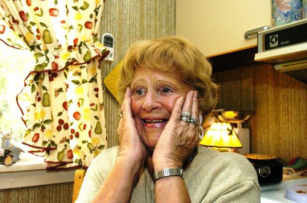 Da GT-Sara feiret 80 år i september 2004 var RB på besøk hjemme hos henne.