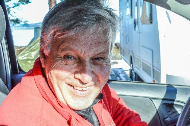 SJEFEN SJØL: Karl Ramton eier og driver Ramton camping, en lun og fin type som har mange baller i luften.