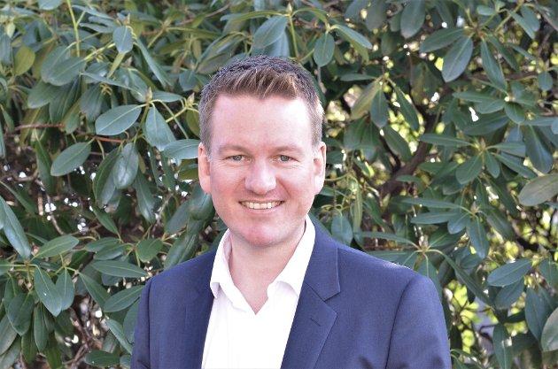FORFATTER: Anders Tyvand er Kristelig Folkepartis toppkandidat ved årets stortingsvalg i Vestfold.