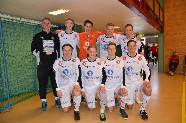 Valdres FK-herrene vant finalen mot Rødberg - et sammensatt lag av valdriser.