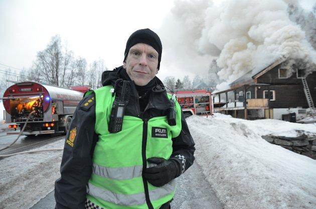 Slidre: Avisa Valdres har gjort et intervju med innsatsleder i politiet, Kristian Solemsli fra Vang.