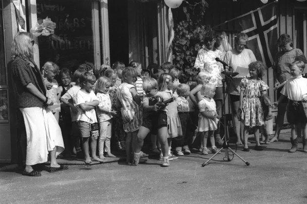 Hellvik barnehage i 1988.