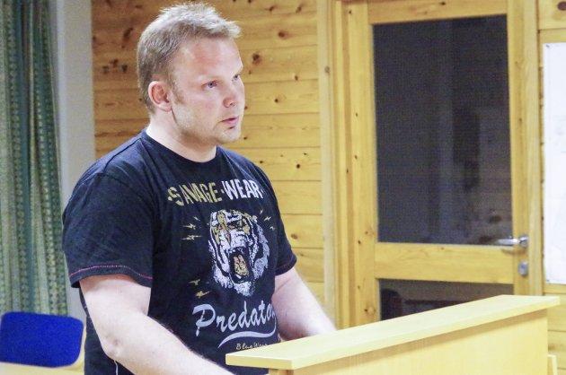 POLITIKER: Håkon Esten Steimoen representerer Senterpartiet i kommunestyret i Alvdal.