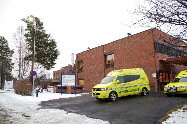 Sykehuset Innlandet: Arkivbilde fra sjukehuset på Tynset.