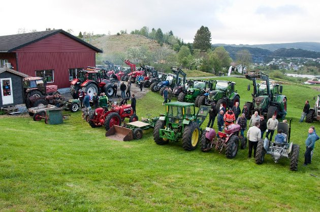 Illustrasjonsfoto: Traktortreffet på Haugland i 2019.