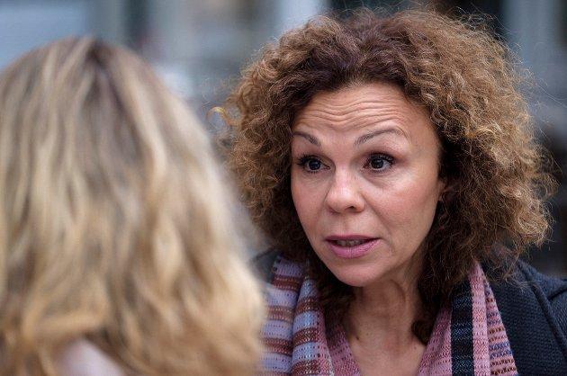 Kari Jaquesson svarer på kritikken fra AN-journalist Inger Anne Lillebø. Foto: Ole Gunnar Onsøien / NTB scanpix