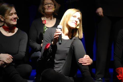Mesdames med Hanne Sleipnes Martinussen som solist