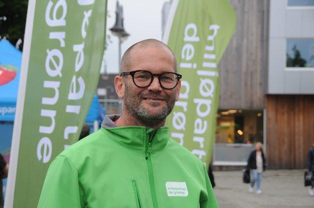Forlanger svar: Alexander Rügert-Raustein i Miljøpartiet De Grønne Randaberg.