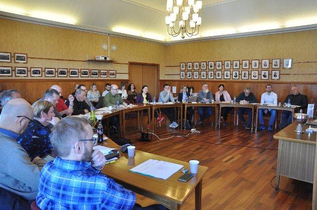 Kommunestyret i Nordkapp i april i fjor.