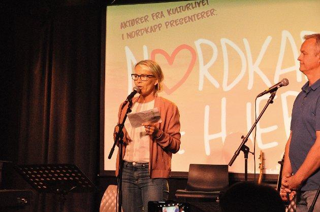 Kjersti Røst undrer seg over at Nordkapp Arbeiderparti inviterte kun rådmannen til å informere om områdeplanen for Nordkapp-platået.