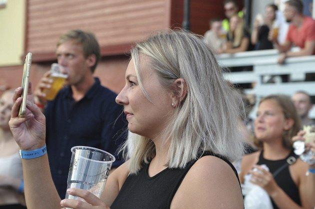 Nadja Iselin Wagelid deltok på Oggasjakka for første gang i år og ble imponert.