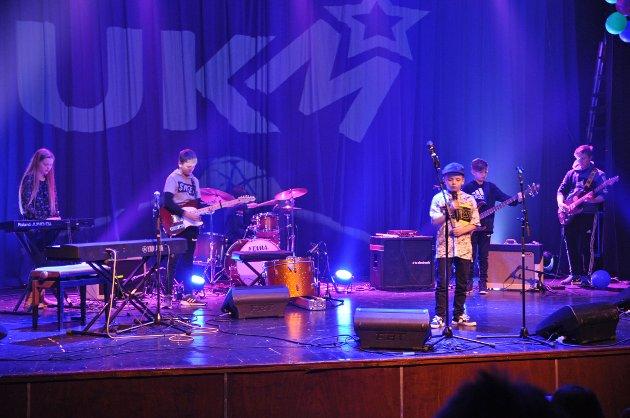Det var mange som sjarmerte publikum under årets UKM i Honningsvåg.