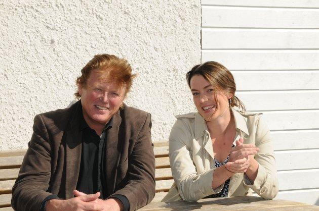 Per-Gunnar Skotåm og Synne H. Bjørbæk