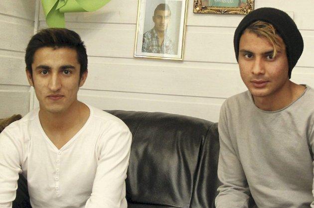 UVISST: Niaz og Yasir er blitt politiske kasteballer.