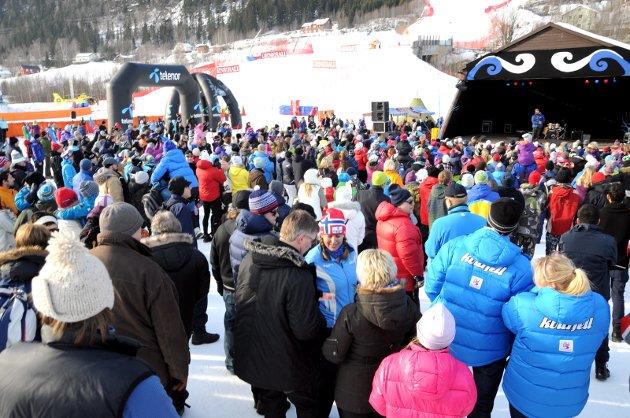 Kvitfjell: Bare her kan Norge skape en alpin-klassiker på linje med de store i Mellom-Europa. Foto: Knut Storvik