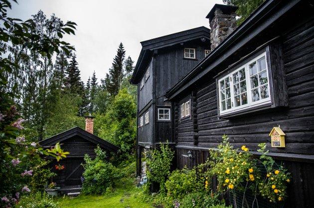 Tømmerhuset ble bygget i 1971.
