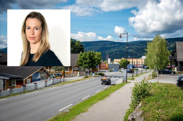 STEDSUTVIKLING: I euforien over alt OL i 1994 førte med seg, virker det som om kommunen glemte å planlegge sentrum, skriver kommentator Kathrine Lunde Solbraa.