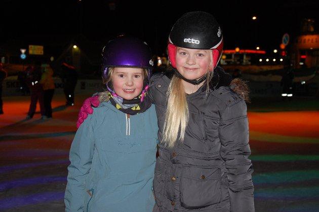 Anne Skjervum Enstrøm og Sara Maud Alise Fredheim.