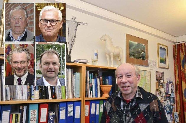 Harald Jordal har sidan 1997 vore i denne særmerkte stillinga, der han har bistått ordførarar og rådmenn i deira daglege arbeid. No hyller fire ordførarar den tidlegare kommunesekretæren.