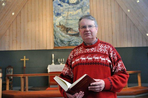 Egil Lønmo mener kristne mennesker ikke skal beskylde andre for djevelskap.