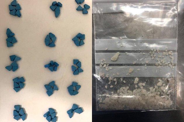 FARLIGE FRISTELSER: Politiet i Finnmark har gjort beslag av narkotika i ulike former. Jørgen Holte er bekymret for utviklingen med et stadig yngre rusmiljø.