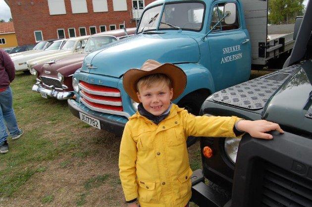 Theodor Lysaker Gunneriussen fra Hemnes, har vært med på veterantreff fra han var fire måneder gammel.
