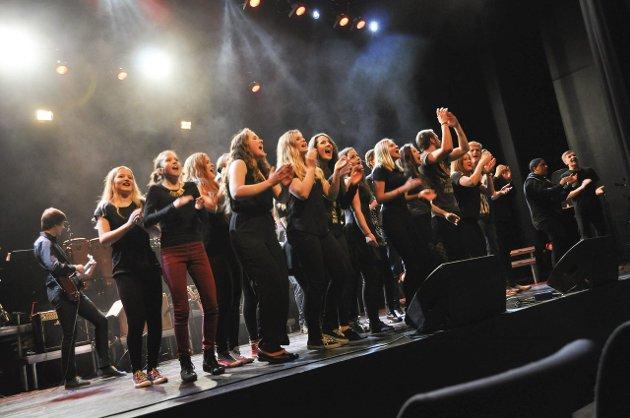 Konsert i Lofoten kulturhus emd kulturskolene i Vågan og Vestvågøy