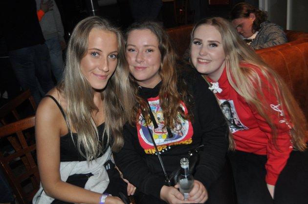 Ida, Sandra og Henriette