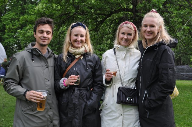 Nuno, Ingrid, Maren og Hanna