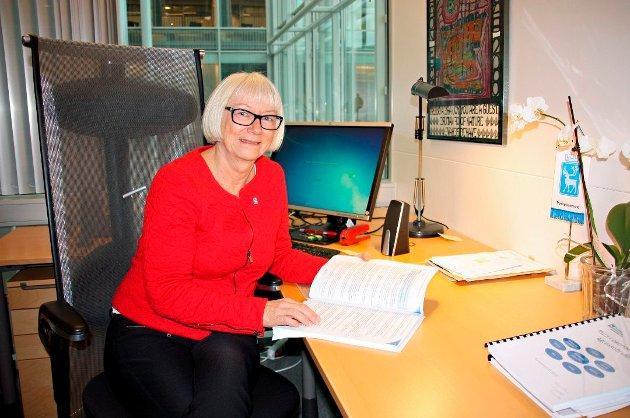 Gunhild Johansen (SV), leder Helse og velferdsutvalget i Tromsø kommune.