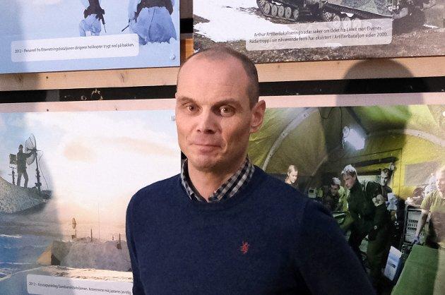 Argumentasjonen mot vårt forslag er syltynn og viser til fulle at Høyre ikke på noen som helst måte har ambisjoner om en framtidig helikopterkapasitet for Hæren og Brigade Nord, skriver Senterpartiets Toralf Heimdal (bildet) til Høyres Hårek Elvenes.