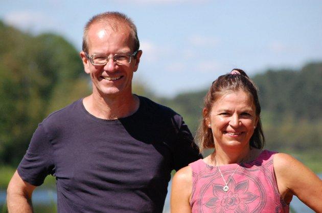 Steinar Fuglevaag og Hanne Eldby, SVs BU-representanter i Østensjø