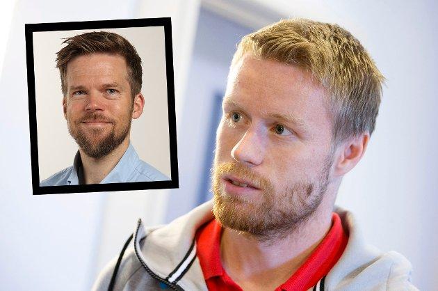 AMBIVALENT: En langtidsskade i FC København gjorde at Tom Høgli ønsket å bli værende ut året hos Ståle Solbakken og co., blant annet for å kunne bidra i Champions League-kvalifisering. TIL godtok til slutt det, mot en god økonomisk kompensasjon. Likevel er sportsleder Anders Mo Hanssen (innfelt) sikker på at det er en bred skuffelse blant TILs supportere over ikke å få helten hjem i sommer som planlagt.