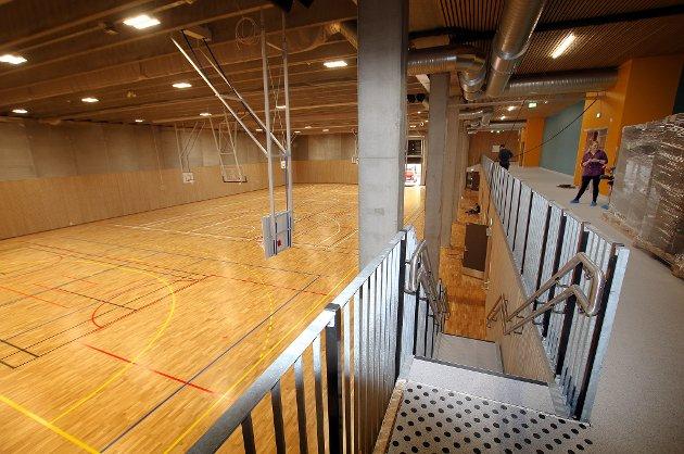 Hall-kapasiteten i Tromsø er sperngt. Derfor jubler nok mange over at denne splitter nye hallen snart blir tilgjengelig.