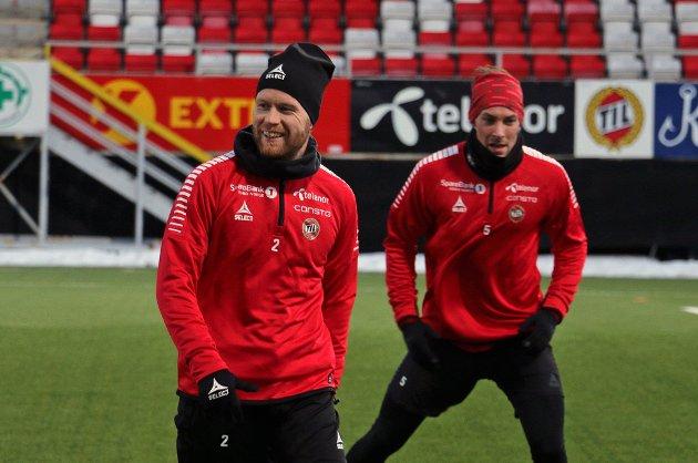 Tom Høgli og Magnar Ødegaard