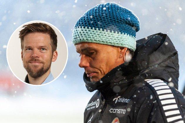 TAKK FOR NÅ: Søndag ble det klart at Simo Valakari ikke lenger er TIL-trener. Nordlys' sportsleder Anders Mo Hanssen (innfelt) mener det burde ha skjedd før, og kaster litt lys over hvorfor det skjer akkurat nå.