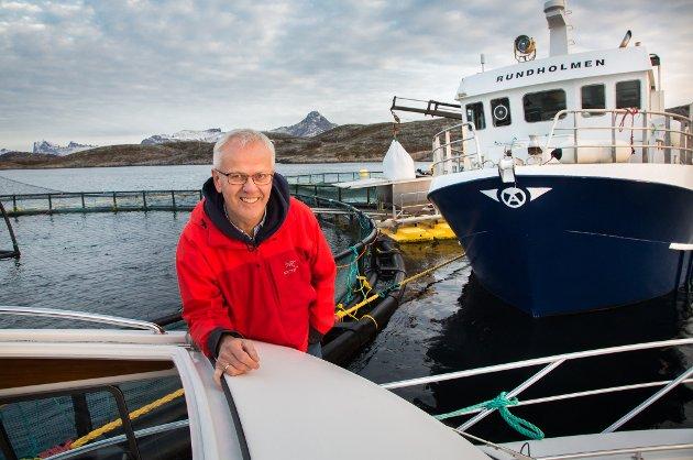 INGEN PENSJONSPLANER: Aksel Olsen er 67 og kunne vært pensjonist, men har ingen planer om å trappe ned.