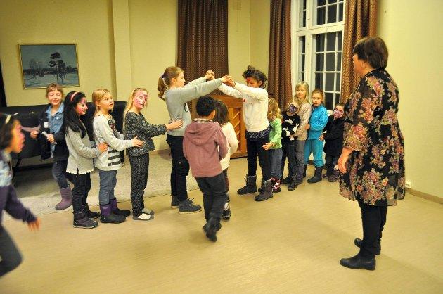 LIV: – Hunn-bygningen er Gjøviks slott, mener artikkelforfatteren. Her fra en av kulturskolens mange åpne dager.