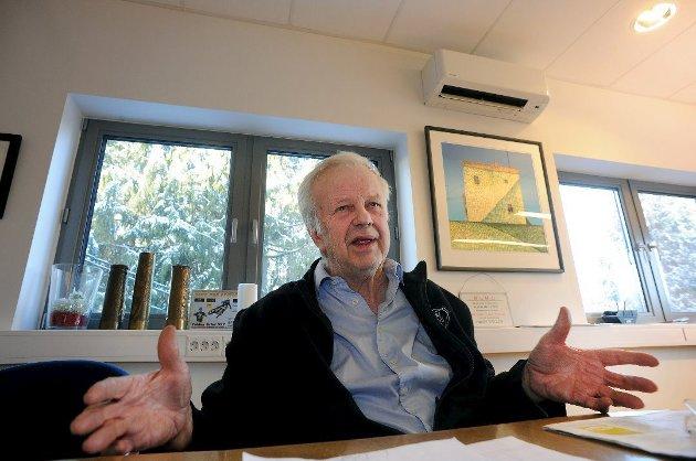 Døde brått: Bjørn Arvid Prytz har vært en markant bedriftsleder i Follo i en årrekke.
