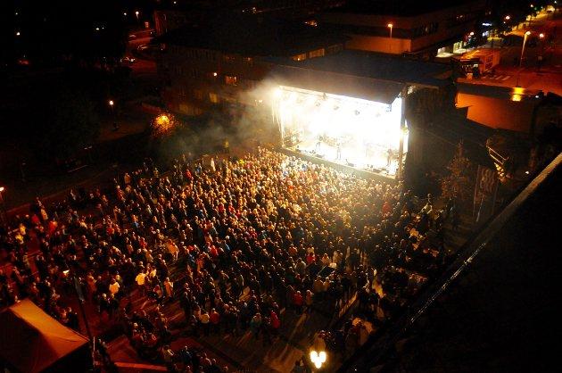 Konsert på Rådhusplassen