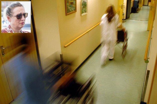 – Journalens innhold viser med tydelighet at Hønefoss sykehjem brøt kravet til forsvarlig og verdig behandling, sier Synne Bernhardt.
