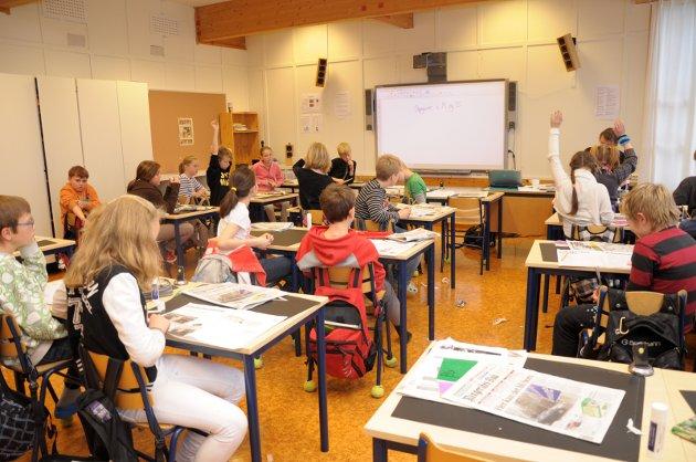 – Høyre er opptatt av at alle elever skal få utfordringer å strekke seg etter, skriver Runar Johansen og Jan Frantzen i dette leserinnlegget.
