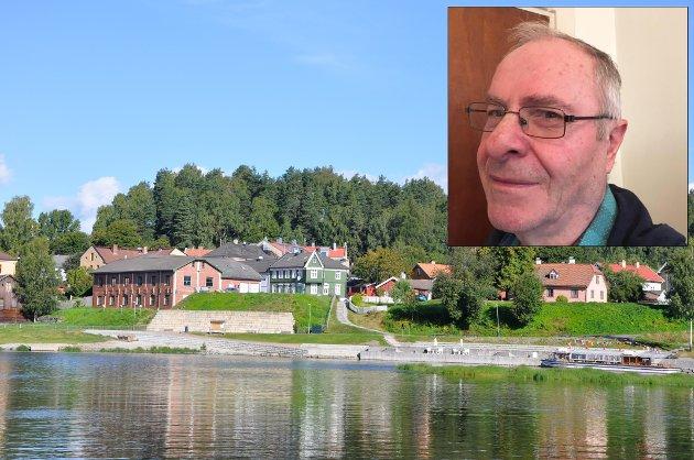 ENGASJERT: Olav Bjotveit representerer Ringerike Senterparti.