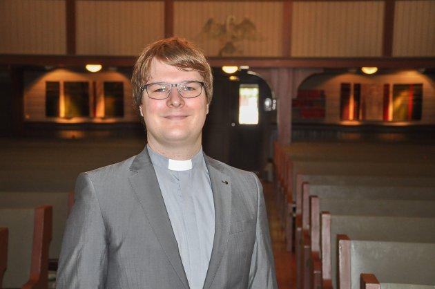 Kappellan i Eidsberg, Mysen, Trømborg og Hærland, Magnus Grøvle Vesteraas.