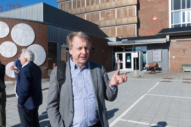 Ordfører i Indre Østfold kommune Saxe Frøshaug (Sp).